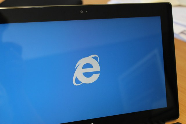 IE on a Surface RT
