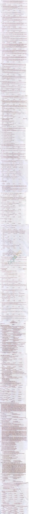 ICET 2012 Question Papers with Answers