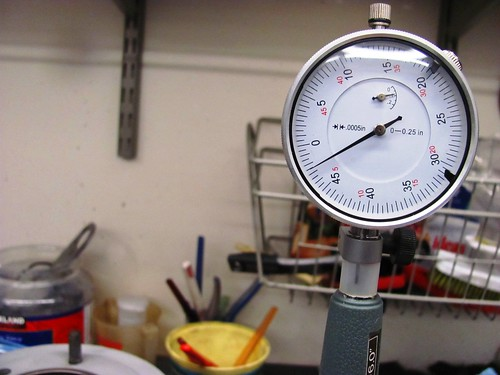 Rock Bore Gauge for Minimum Distance