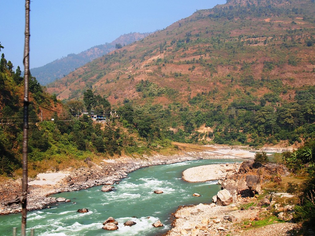 on the way to pokhara