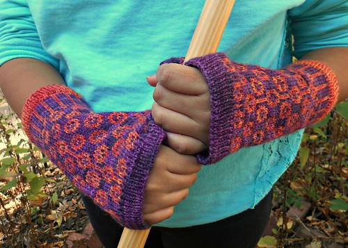 cotton reel mitts