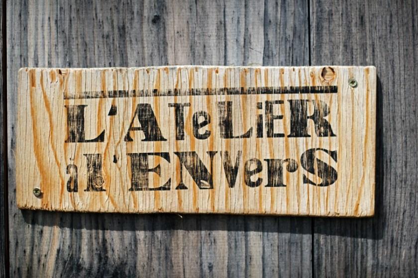 L'atelier à L'Envers