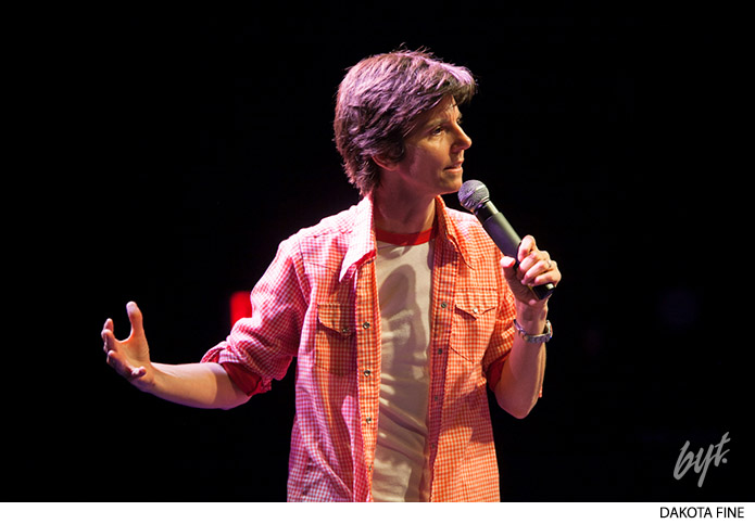 BYT presents the Bentzen Ball Opening Night with headliner Tig Notaro at the 930 Club in Washington DC, on Thursday October 10, 2013.