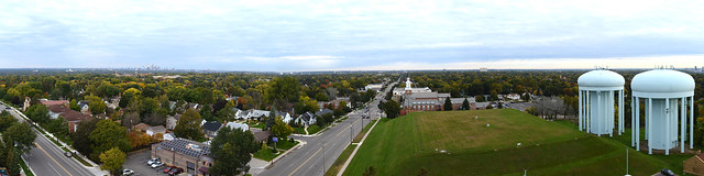 View from the Highland Park Water Tower