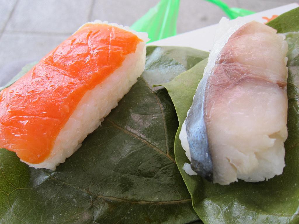 柿の葉寿司 (2)