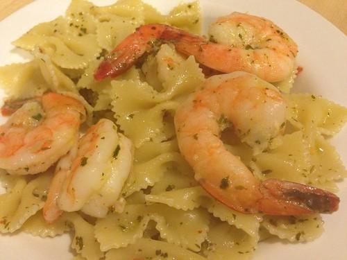 over pasta