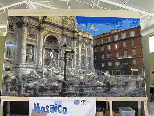 Il mosaico terminato