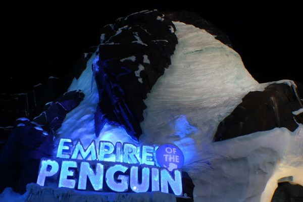 Antarctica: Empire of the Penguins at SeaWorld Orlando at night