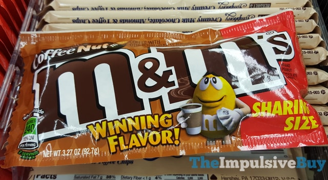 Coffee Nut M&M's (Flavor Vote Winner)