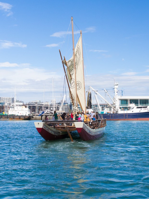 Waka Tour, Auckland