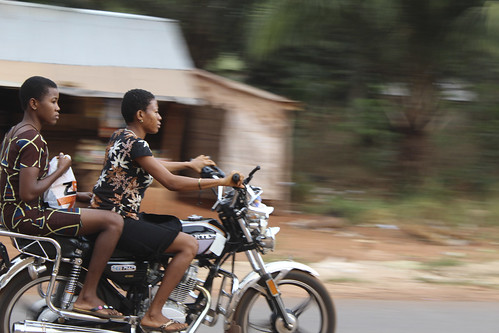 Female Motor-cyclers in Iheaka Enugu State Nigeria by Jujufilms