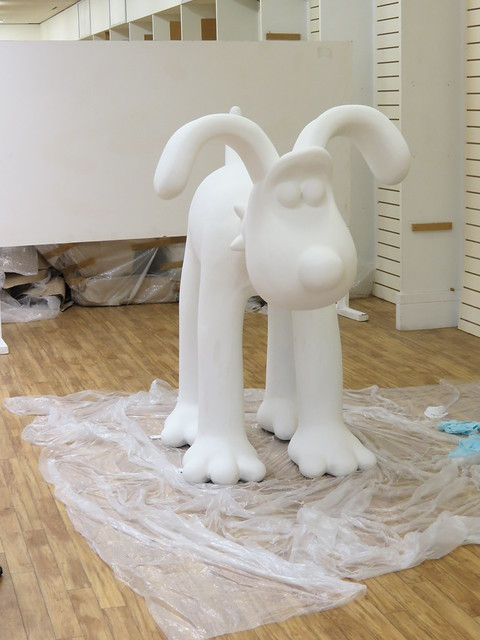 Naked Gromit - ready to be painted