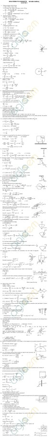 HC Verma Solutions: Chapter 7 - Circular Motion