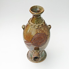 Yarrabah Pottery. Port keg