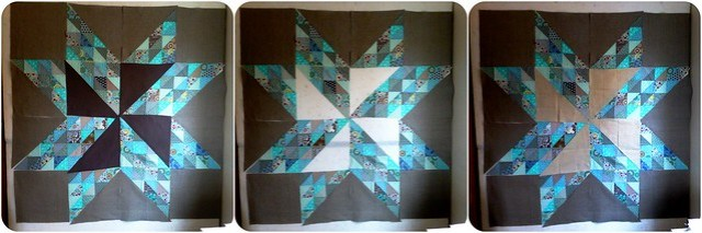 Brit Bee '13 Star Wallhanging (in progress)