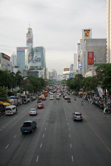 big city streets