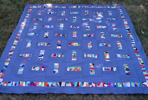 Fun with Free Piecing Top Completed