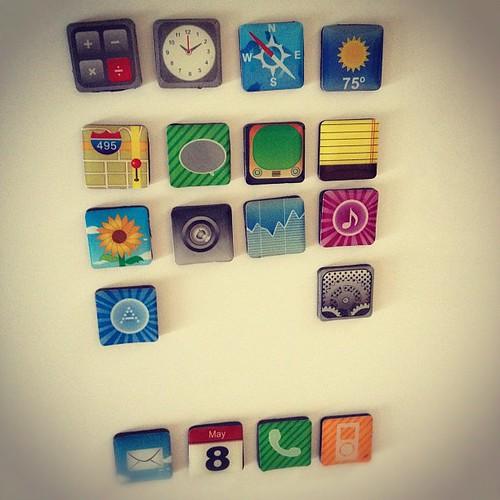 Tenemos un #ipad en la nevera gracias a @manyez y a @qrisirp cc @dagmar96hours by rutroncal