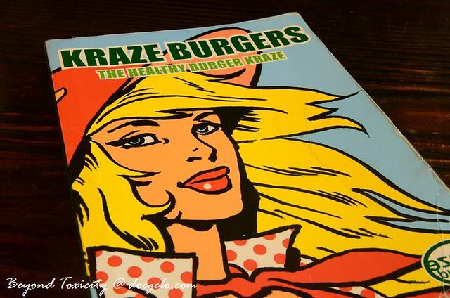 kraze burgers, marina bay sands
