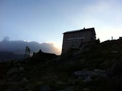 Sonnenaufgang Kasseler Hütte 2.274 m