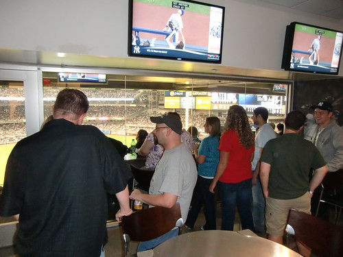Watching the Yankees Win after Affiliate Summit East 2012