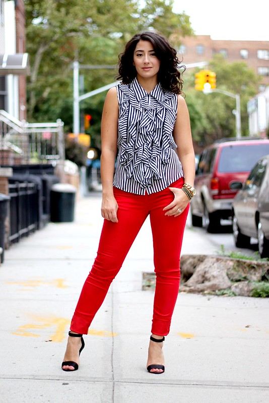 Red and Ruffles