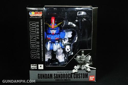 SDGO Sandrock Custom Unboxing & Review - SD Gundam Online Capsule Fighter (1)