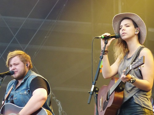 Of Monsters and Men @ Rock en Seine 2012, jour 2