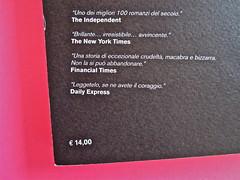 Iain Banks, La fabbrica delle vespe, Meridiano Zero 2012. Progetto grafico: Meat collettivo grafico; realizz. graf.: Nicolas Campagnari. Quarta di copertina (part.), 2