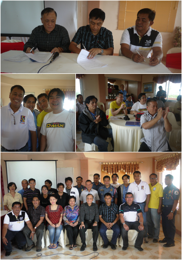 Regional Cave Committee (RCC) Meeting Memorandum of Agreement (MOA) signing