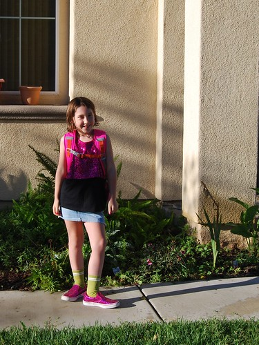 Allie 1st Day 2nd Grade