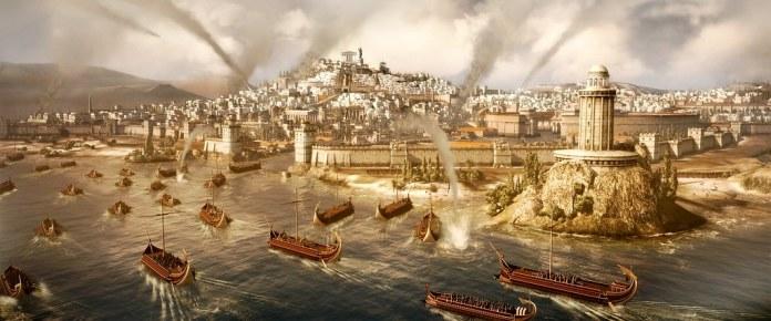 Naval invasion