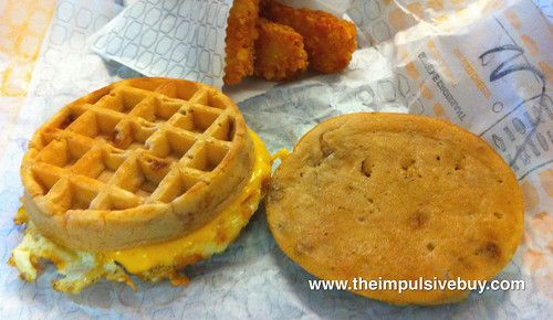 Jack in the Box Waffle Breakfast Sandwich WTF