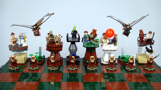 Star Wars: Return of the Jedi Lego Chess