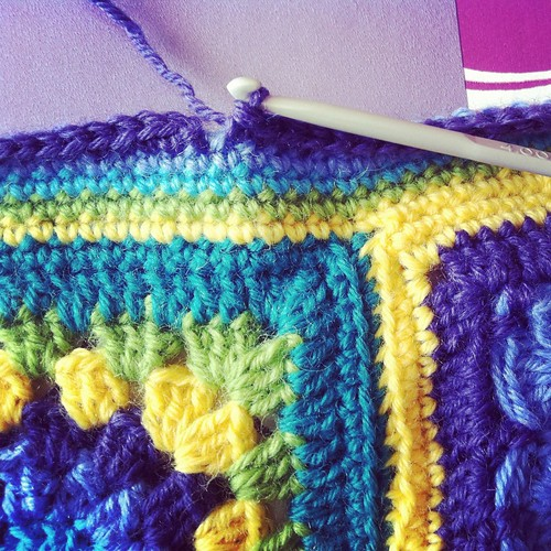 The last stitch!