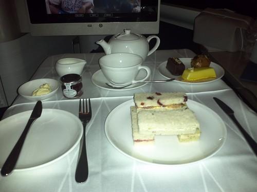Afternoon Tea Before Landing
