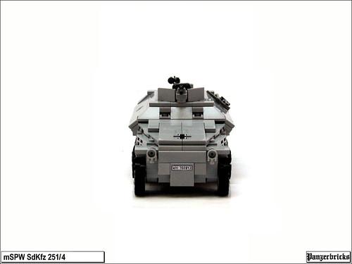 SdKfz 251/4 Ausf C de Panzerbricks