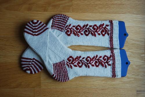 Roosiemine socks