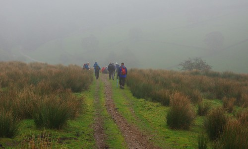 20111016-01_Oaken Clough - Heading into the mist by gary.hadden
