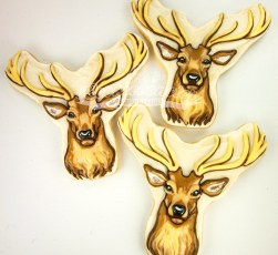 Buck Deer cookie