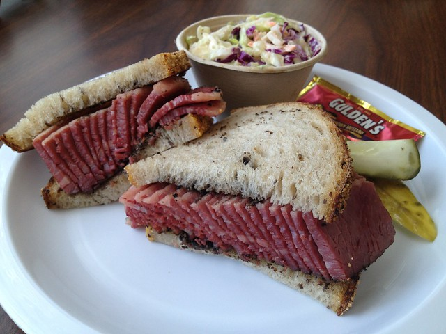 Pastrami sandwich - Wise Sons Jewish Delicatessen