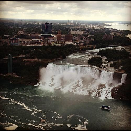 Niagara falls, America's side