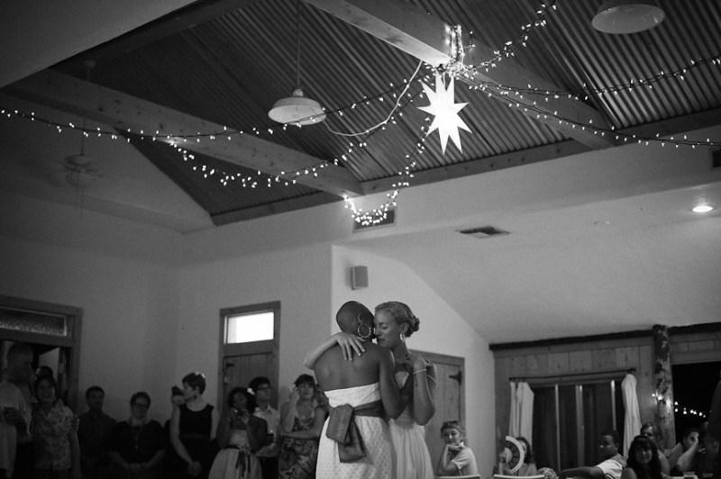 Brides' first dance