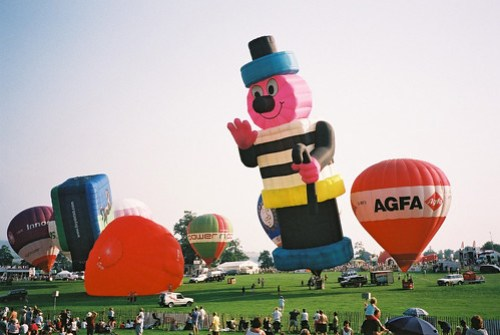 Bristol International Balloon Fiesta 07-08-2003