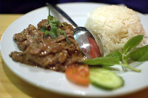 Chilli lemongrass beef
