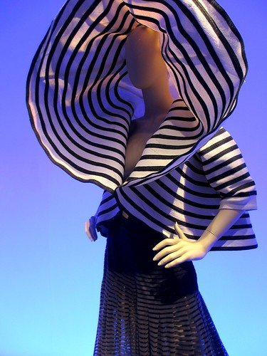 Amazing hood in Gaultier's sailor-inspired collection.