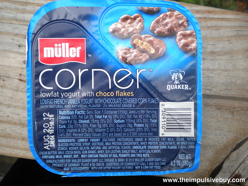 Quaker Mu?ller Corner Yogurt Choco Flakes