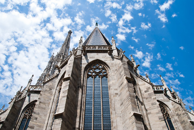 st stephen's cathedral (touching the sky)