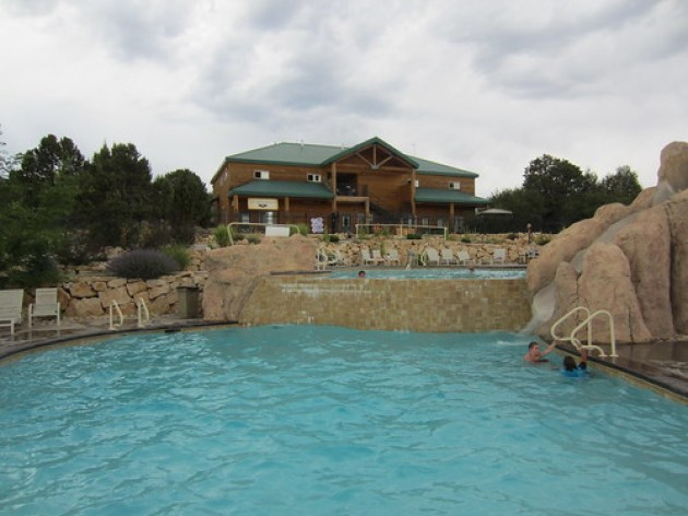 Zion Ponderosa Resort Pool