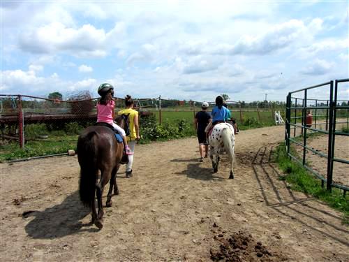 Pony Riding at Pinto Valley Ranch